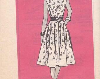 Simple Summer Dress Mail Order Pattern 4633 Size 20 Uncut