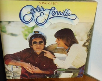 "Captain and Tennille - Song Of Joy - SP 4570  - 12"" vinyl lp, album, gatefold (A&M Records,1976)"