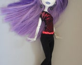 Monster High clothes black leggings and shirt