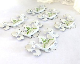Distressed Drawer Pulls,  Traditional Drawer Handles,  Painted Pulls