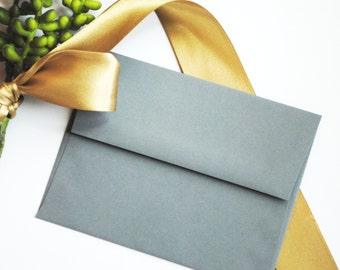 Gray Envelope. A7 envelope