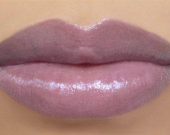 "Lipstick - ""Whisper"" (semi-sheer lilac/lavender purple vegan lipstick) natural lip tint, balm, lip colour mineral lipstick"