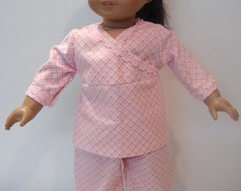 "Pajamas for American Girl doll and other 18"" dolls"