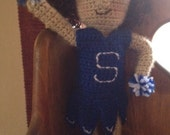 Crochet Cheerleader Doll Outfit