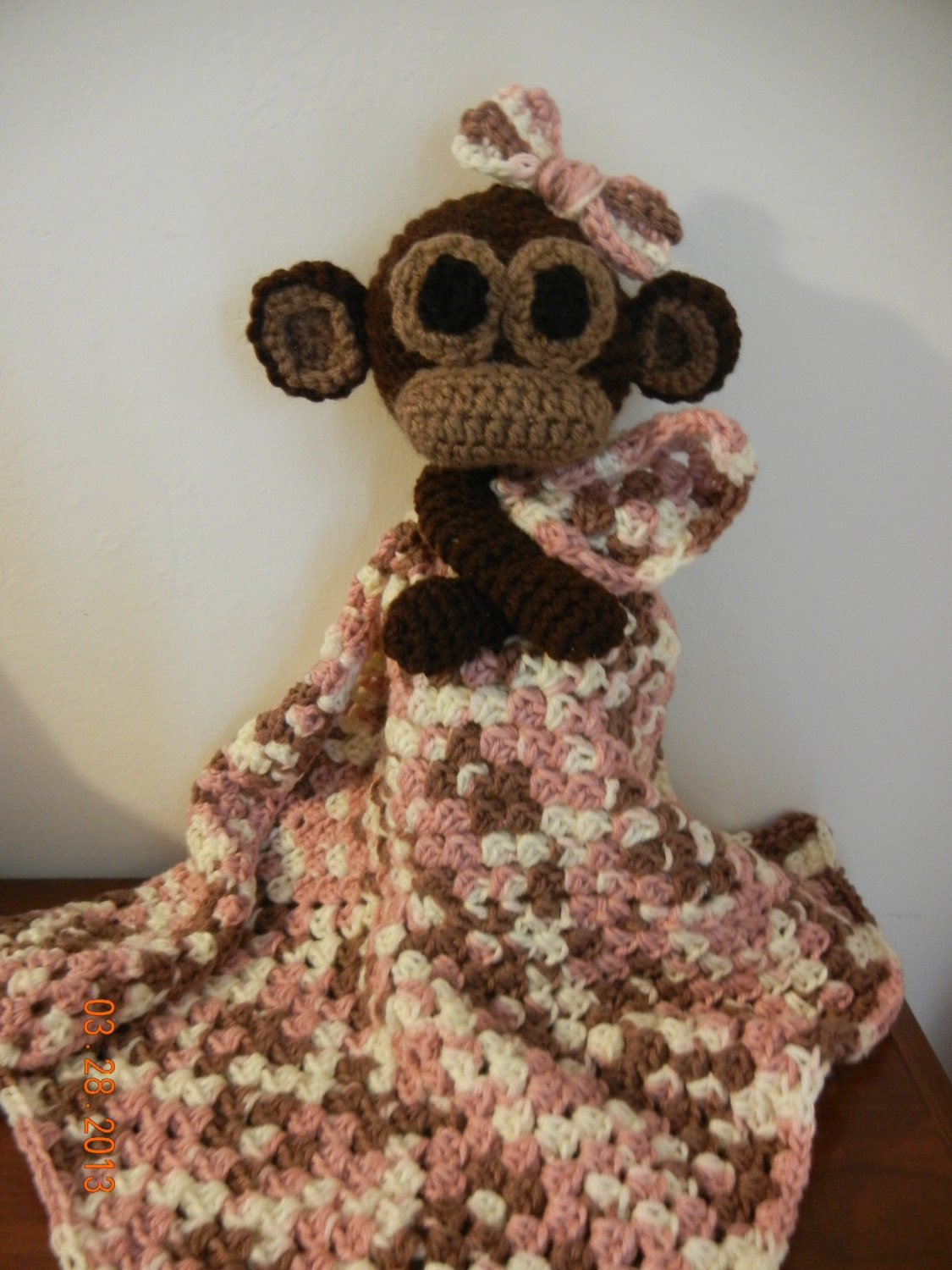 Sweet Monkey Lovey pattern
