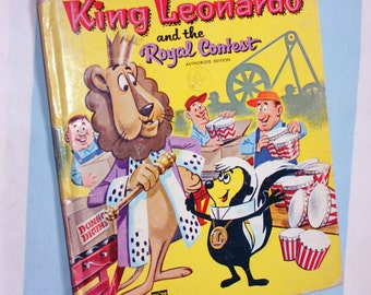 King Leonardo and the Royal Contest, 1962 Whitman Top-Top Tale