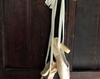 Ballet Pointe Shoes, Shabby Chic Decor, Art