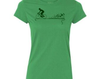 Nature Ride Bella Crew Cycling T-shirt.