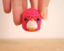 Amigurumi Penguin, Crocheted doll, gift for teens, kawaii penguin, cute keychain, kawaii charm, kawaii animal, cute phone dangle