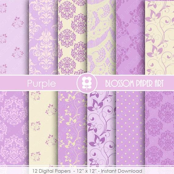 Papeles decorativos lila violeta papeles decorativos para - Papeles decorativos de pared ...