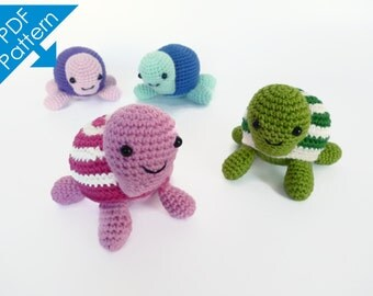 Tony the Turtle - Amigurumi Crochet Pattern