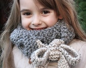 Cracow Cowl - knitting pattern - Toddler, Child and Adult sizes - pdf format / eBook