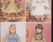 Historic Clothing for 18 Inch Doll - Butterick #6667 - A Girl Doll Pattern - Unused