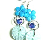 Fashion Star Earrings, Trendy Drop Dangles