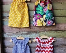 Girls Beach Dress, Red Chevron,Greek Key Fabric, Coordinating, summer, size 6 months 12, 18 months 2t 3t 4t 5t,6,7/8,9/10, coordinating