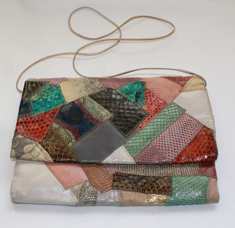 Patchwork purse Etsy