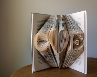 Personalized Anniversary Gift - 1st Anniversary Wedding Gift - Two initials with large heart in between - Gift for Him - Gift for Her