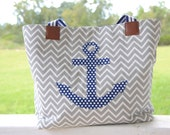 The Anchor Diaper Bag -- more colors available