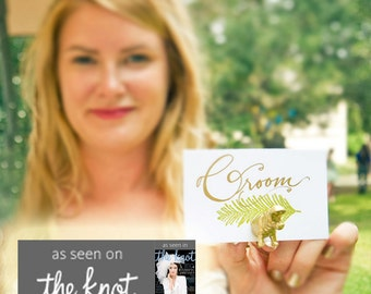 Original Animal Magnet as seen in THE KNOT - Choose different animals for escort cards