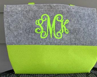Large Monogrammed Tote Bag, Monogrammed Purse, Monogrammed Carry On, Monogram Purse, Tote, Custom Tote Bag, Monogrammed Tote Bag