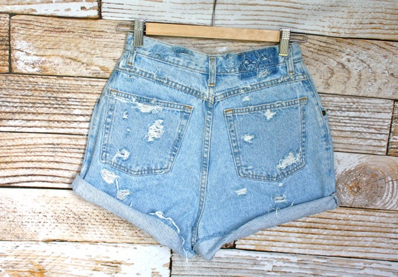 SALE - High Waisted Vintage Shorts