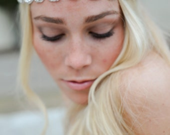 Crystal Headband ,Bridal Headband, Vintage Headband