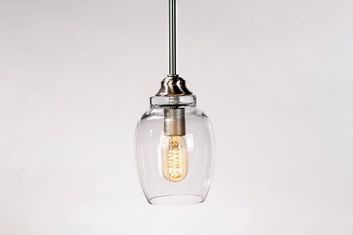 Pendant Light Fixture Edison Bulb Small Lotus By DanCordero