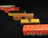 MARX Tin Train Set Circa 1950s - Big Boys Toy