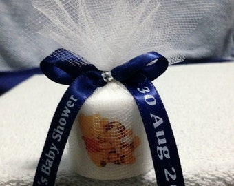 25 Baby Winnie The Pooh and Tigger Like Baby Shower Favors, Its A Boy  Favor, Shower Favors, Baptism , Holy Communition Favors