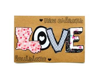 New Orleans Postcard: LOVE