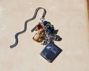 Harry Potter Inspired Potion Book Bookmark with Felix Felicis Potion