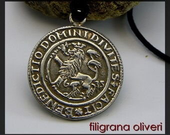 Coin Pendant Norway, Rigsdaler