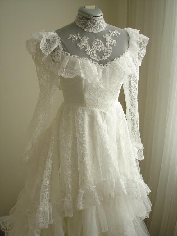 1980s Vintage Antebellum Southern Belle Wedding By TheTealDoor