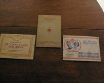 Collectable Cigarette Cards in Cigarette Books 1930's - Vintage Collectable Books