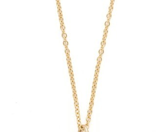 Hexagon Diamond Necklace