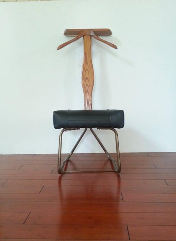 Valet Chair Rare Mid Century 1965 Vintage Setwell Valet