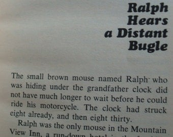 BOOK PREVIEW - Runaway Ralph by Beverly Cleary