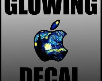 GLOWING MacBook Decal Macbook Stickers Macbook Skin Macbook - Custom vinyl stickers macbook