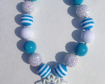 Queen Elsa Chunky Necklace