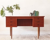 Danish Teak Executive Desk