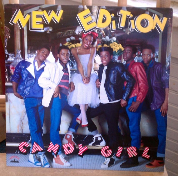 New Edition Candy Girl LP Bobby Brown Bell Biv DeVoe Vintage Vinyl Classic R&B Early Hip Hop 1980s