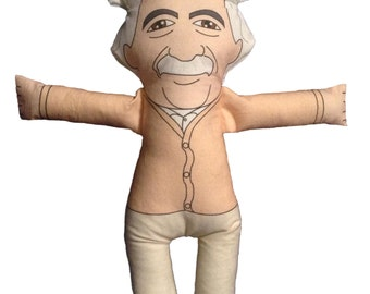Albert Einstein Plush Doll Toy
