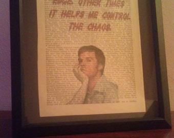 Dexter: Antique Dictionary Art (Blood)