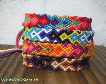 Custom or Premade Arrowhead Friendship Bracelet - Bestseller