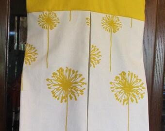 Dandelion Yellow Diaper Stacker Bag