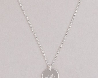 WISH-Necklace, Sterling Silver