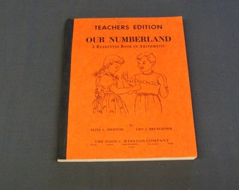 Our Numberland School Book Arithmetic Readiness Book  Teacher Edition