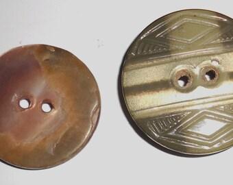 Rare vintage buttons,  Antique Art Deco 1920s collectible button