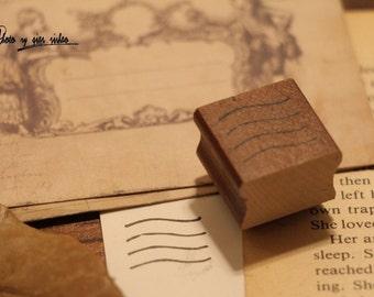 Korean wooden wood square Stamp Letter Rubber Stamp Set stamp up stampin up