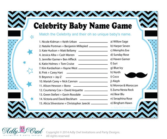 The Best (and Worst!) Celebrity Baby Names [INFOGRAPHIC]